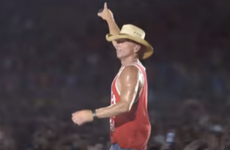 "Kenny Chesney's ""Tip of My Tongue"" is a Top 10 Country Hit"